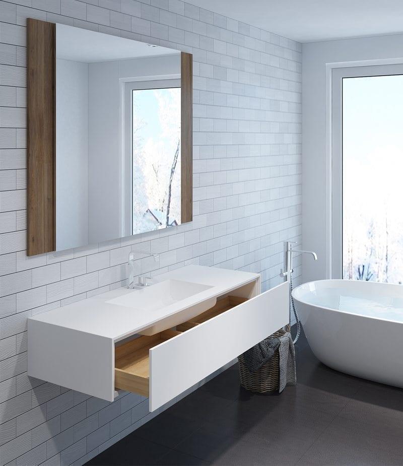 Waschbecken Corian waschbecken corian planen der arbeit mit becken integriert